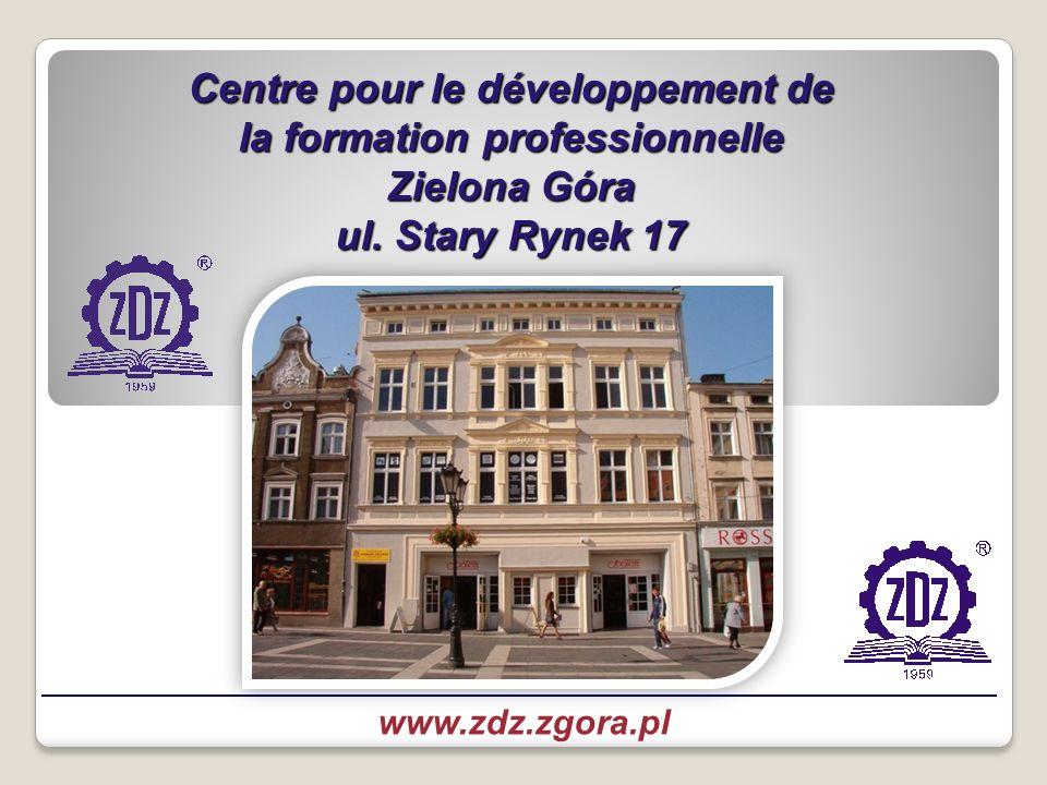 Centre pour le développement de la formation professionnelle Zielona Góra ul.