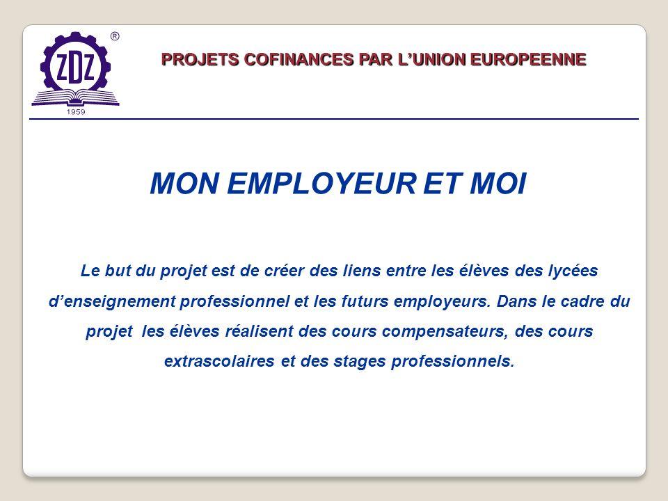 Le but du projet est de créer des liens entre les élèves des lycées denseignement professionnel et les futurs employeurs.