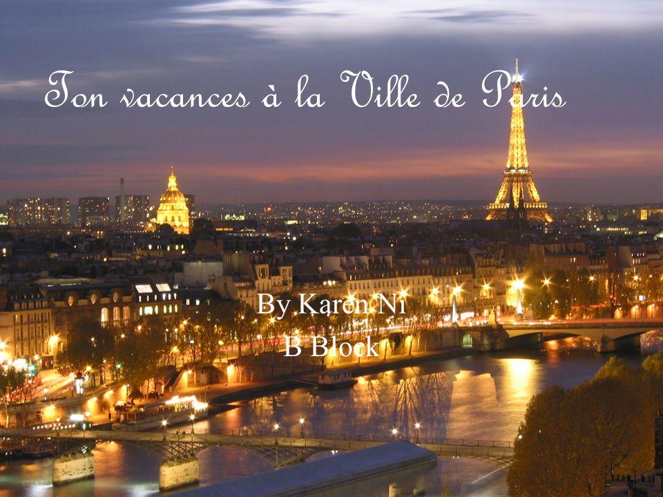 Introduction… Chère Aminata, Bienvenue à Paris.