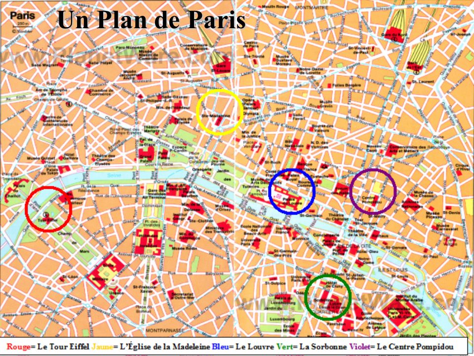 Un Plan de Paris