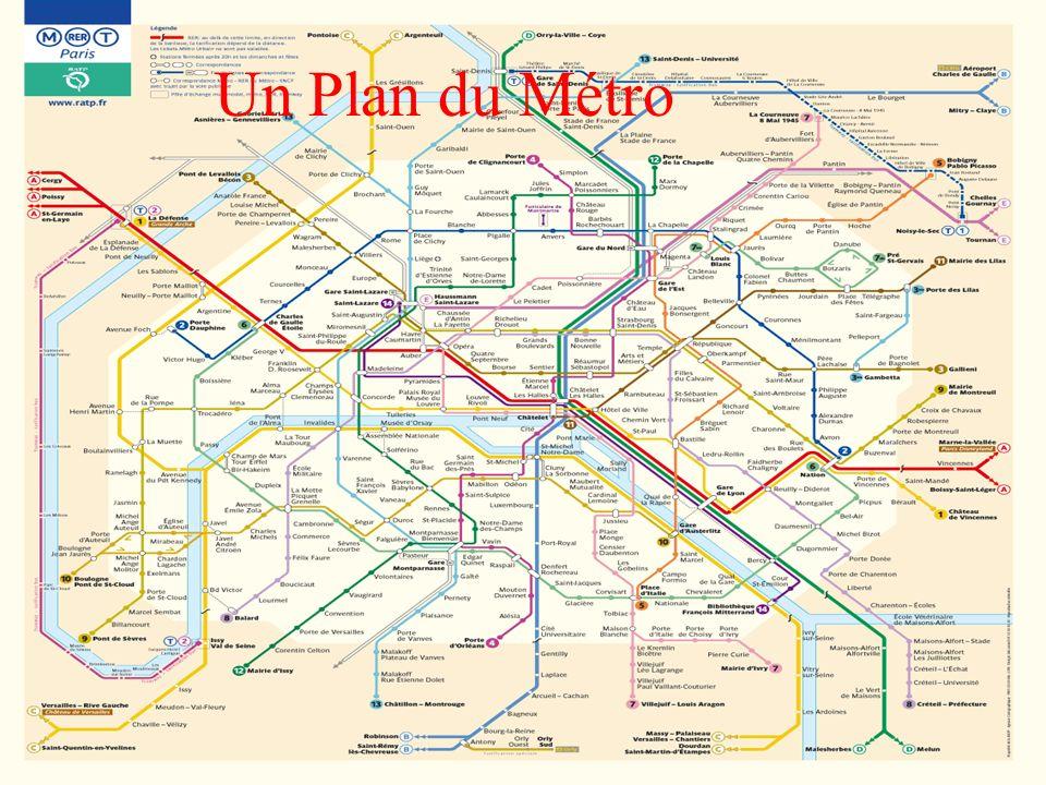 Un Plan du Métro