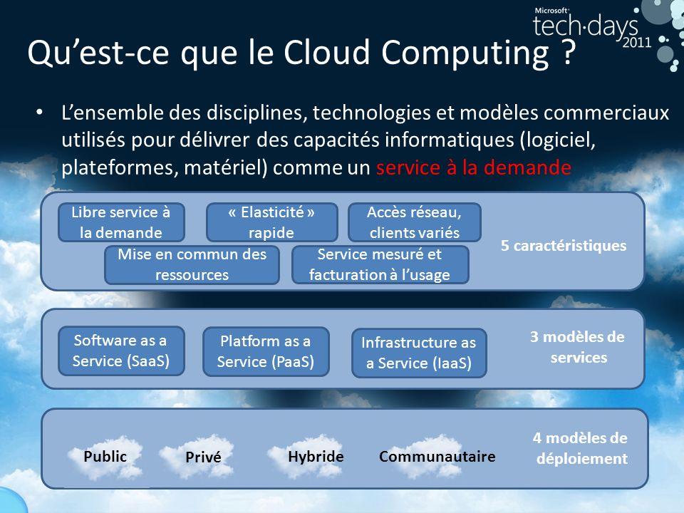 9 Quest-ce que le Cloud Computing .