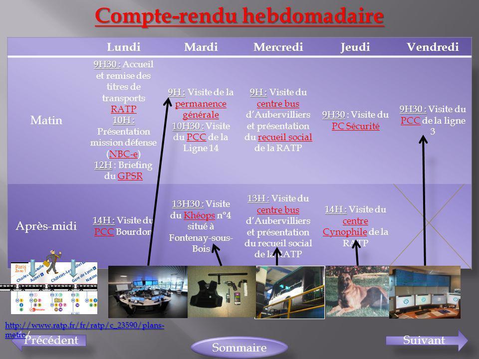 PrécédentSuivant Sommaire Compte-rendu hebdomadaire http://www.ratp.fr/fr/ratp/c_23590/plans- metro http://www.ratp.fr/fr/ratp/c_23590/plans- metro/