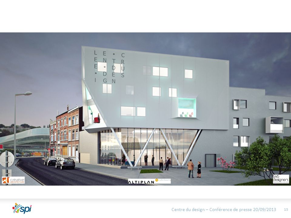 Centre du design – Conférence de presse 20/09/2013 15