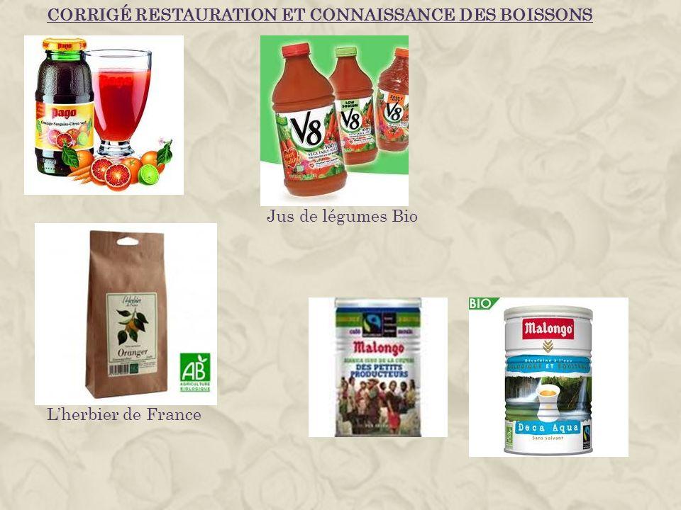 Lherbier de France Jus de légumes Bio