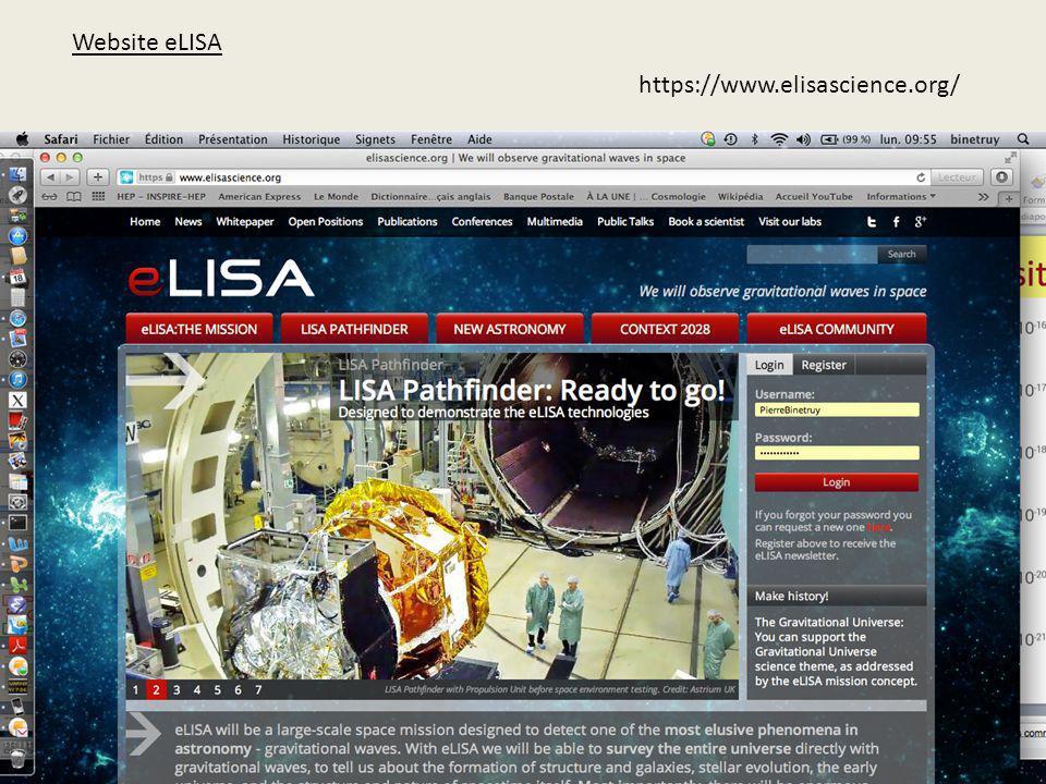 Website eLISA https://www.elisascience.org/
