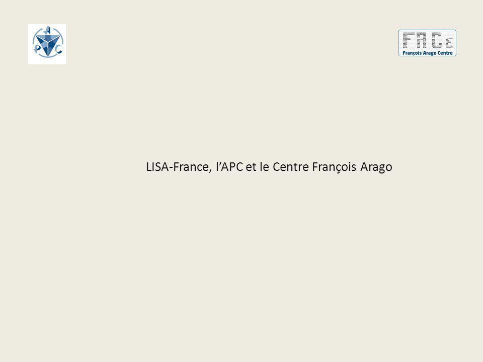 LISA-France, lAPC et le Centre François Arago