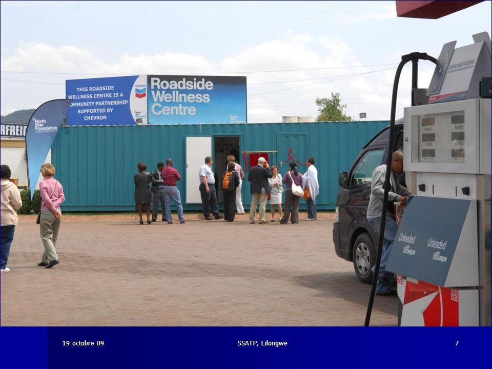 SSATP, Lilongwe719 octobre 09