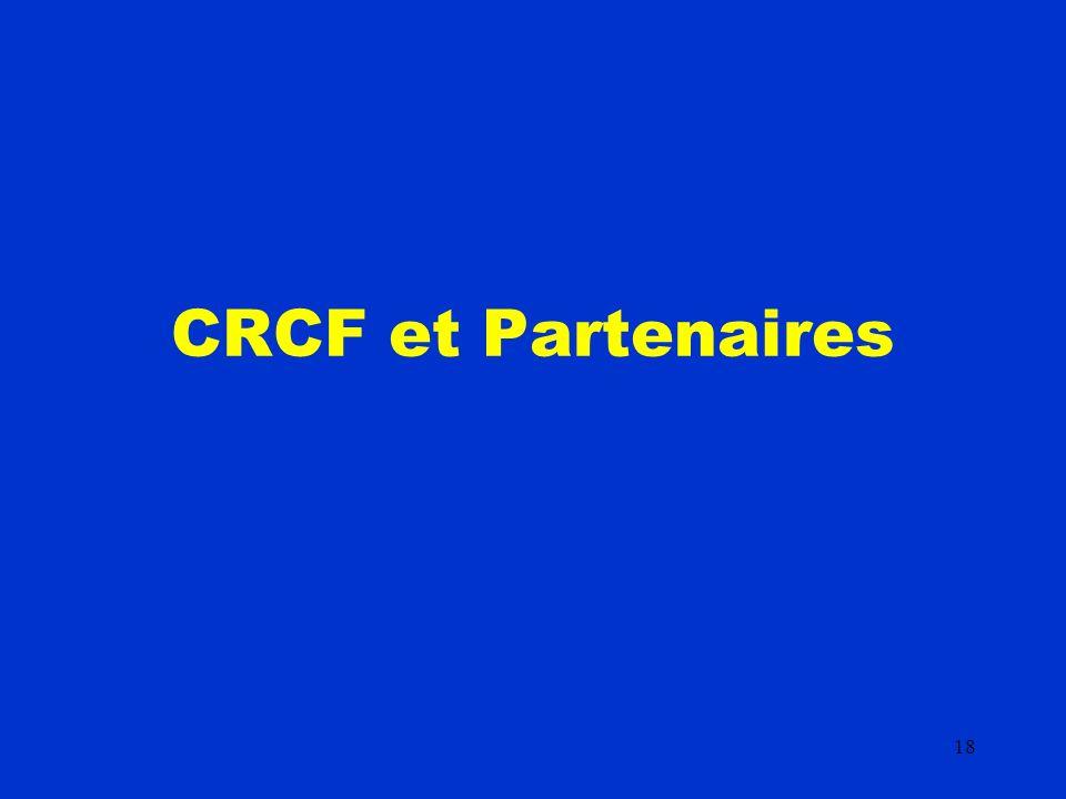 18 CRCF et Partenaires