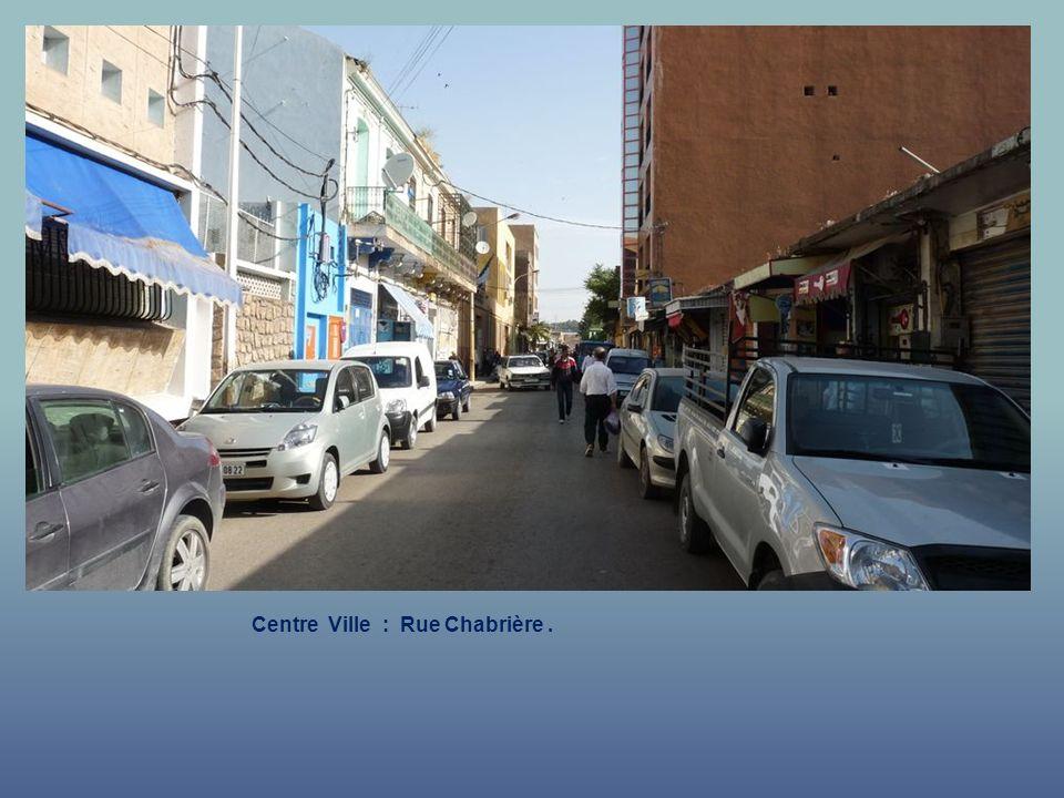 Centre Ville : Rue Gambetta des Glacis Sud.