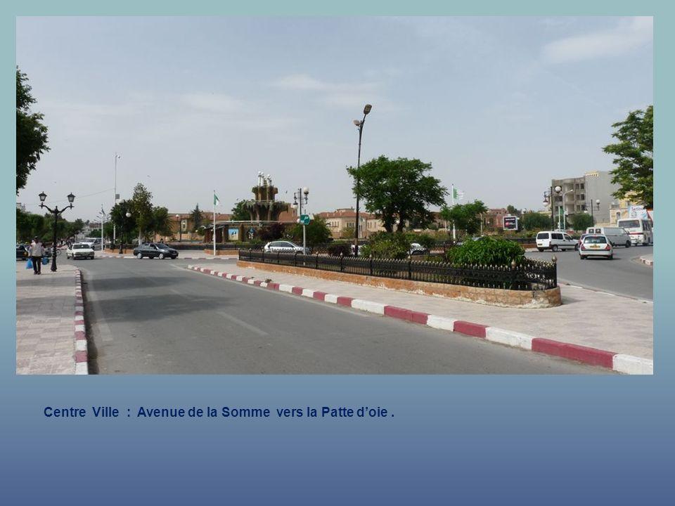 Centre Ville : Avenue de la Somme.