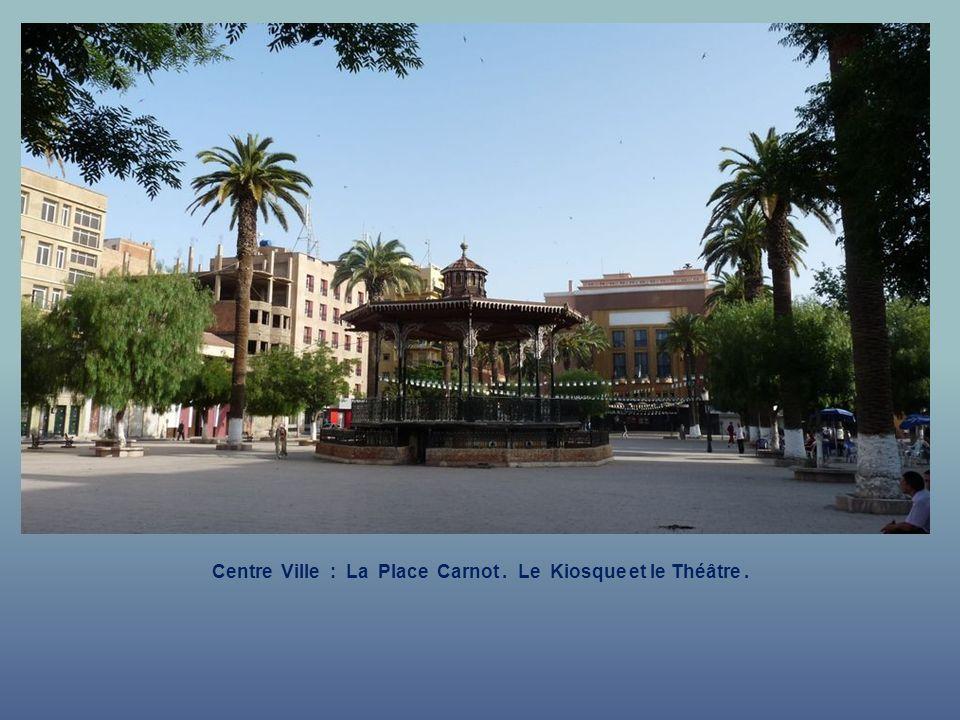 Centre Ville : La Place Carnot.