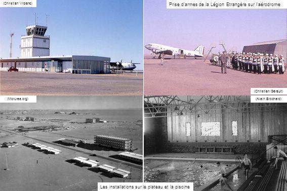 (Christian Gérault)(Lucien Doiret) Certains restent sur place, comme le Breguet 761 F-RAPA et ce Ju 52 (ECPAD)(Christian Vroland) La noria des transporteurs, dont un Breguet 765 de lET 2/64 Maine et un Nord 2502C avec des réacteurs Marboré en bouts dailes