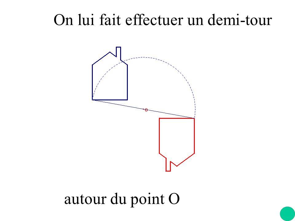 Les figures des cartes à jouer ont un centre de symétrie Le point dintersection des segments est le centre de symétrie.