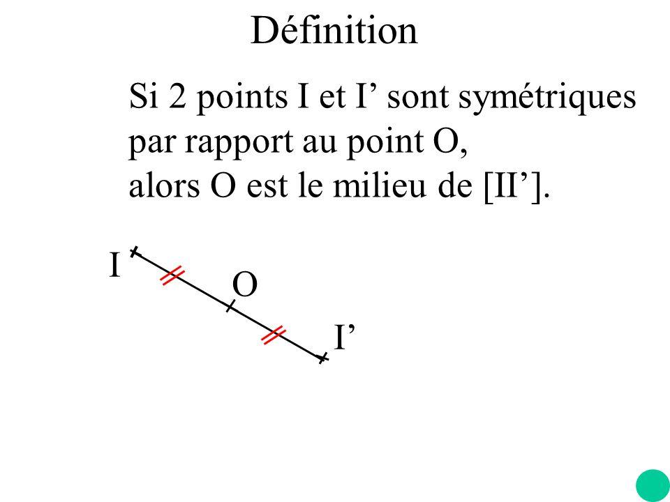 A B A B O L image d une droite est … …une droite qui lui est parallèle.