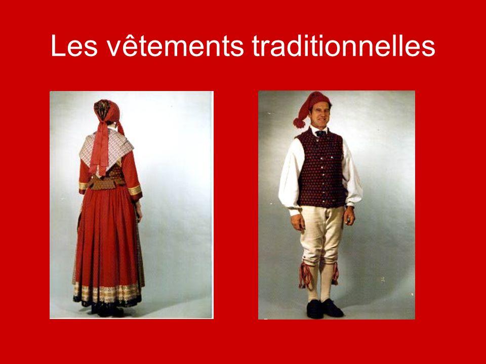 Les vêtements traditionnelles