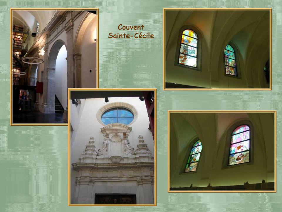 Sainte-Cécile, ancien couvent des Bernardins, fondé en 1624, fut supprimé à la Révolution. En 2008, il fut restauré par les éditions Glénat qui y étab