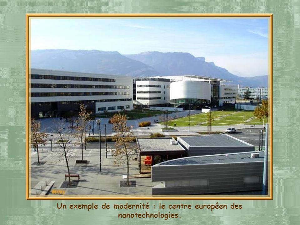 Grenoble, cest lun des grands centres scientifiques européens. La recherche y occupe une place primordiale avec 8 organismes nationaux, 4 centres inte