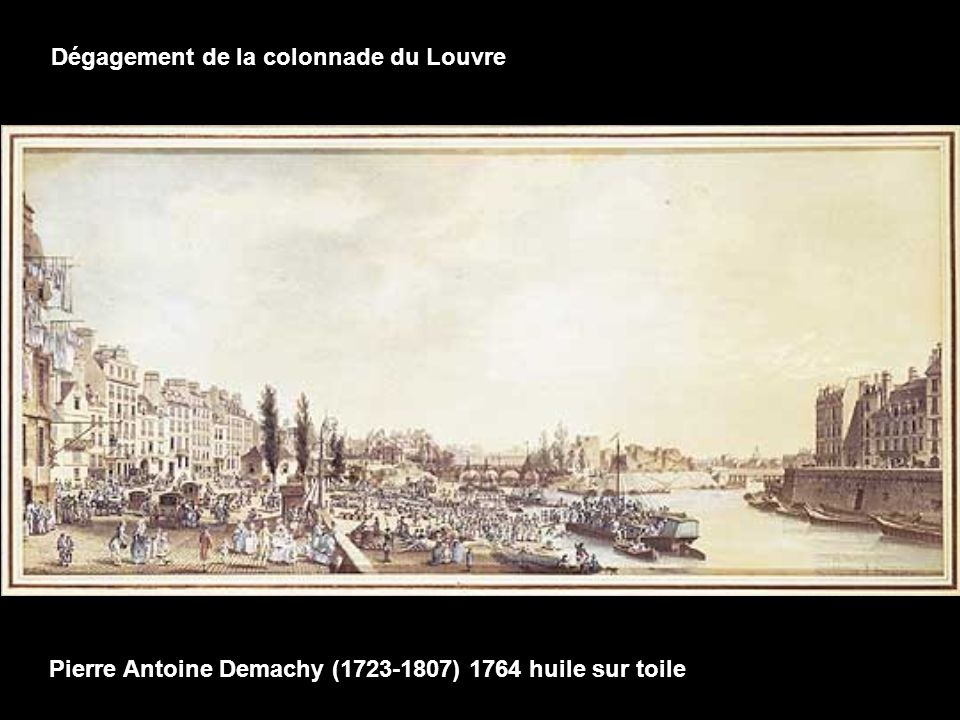 N. de Poilly estampe coloriée