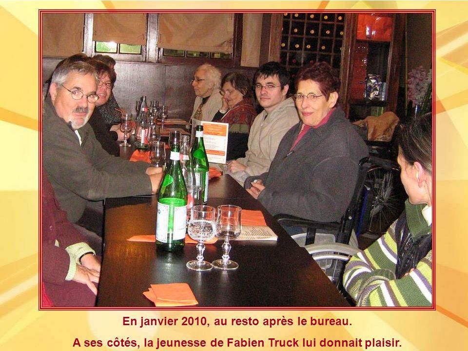 Juillet 2009 : en visite vers Alain Stienne, alors en maison de repos près de Lille.