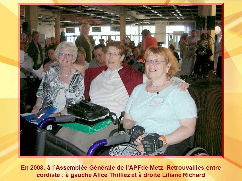 En 2008, à lAssemblée Générale de lAPFde Metz.