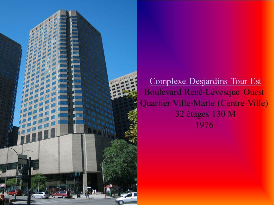 Le 2250 Guy Le 2250 Guy 2250, rue Guy Quartier Ville-Marie (Centre-Ville) 32 étages 1971