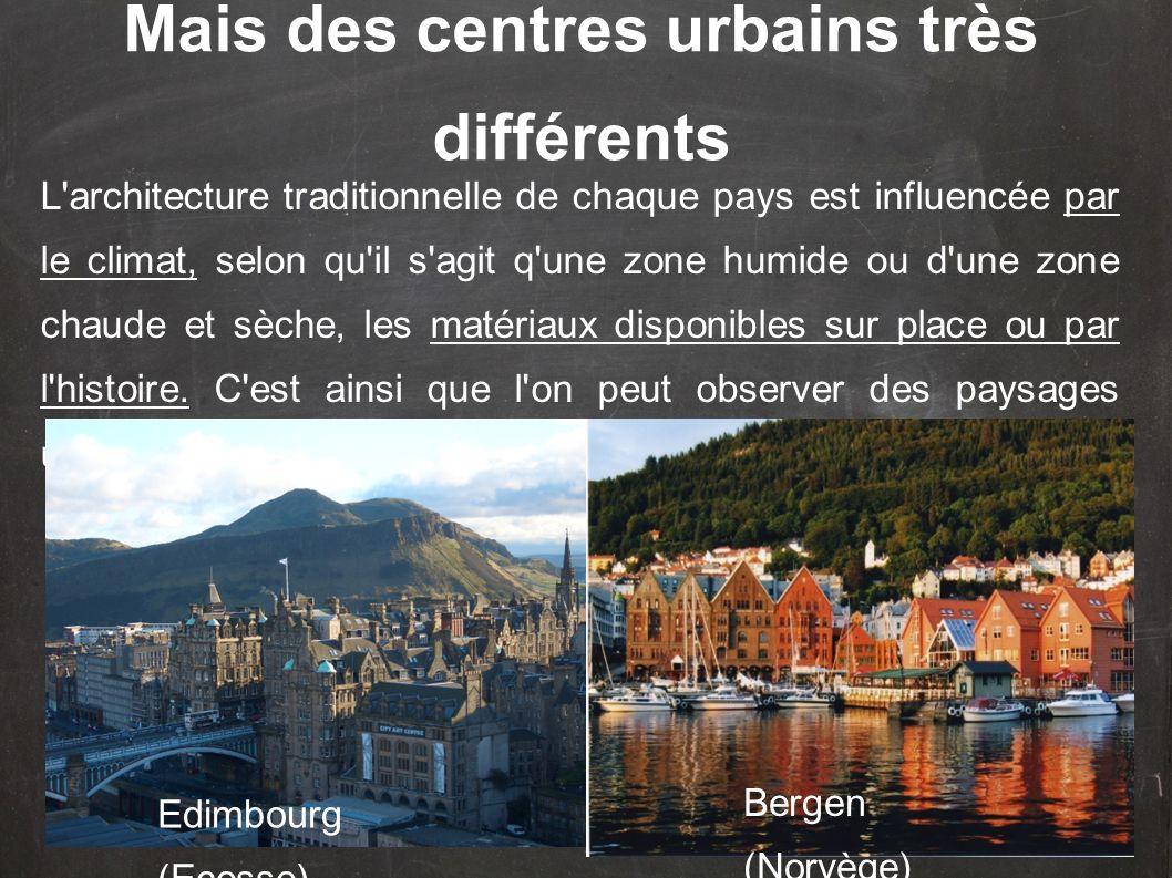 L architecture traditionnelle de chaque pays est influencée par le climat, selon qu il s agit q une zone humide ou d une zone chaude et sèche, les matériaux disponibles sur place ou par l histoire.