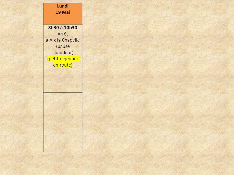 Vendredi 23 Mai (Français + Allemands) Matinée au lycée 8h -9h30 Cours avec les correspondants allemands 9h30-10h Pause 10h-11h30 Tournoi sportif entre élèves français et allemands 11h30-12h Pause 12h-12h30 Repas cantine avec les correspondants 13h Départ de Hambourg