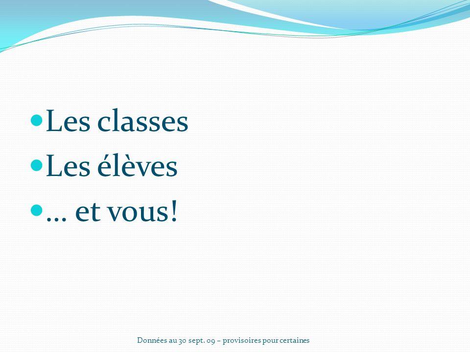Les « bilangues » 2006200720082009 Clg avec Allemand- anglais 146167194203 Clg avec bilangues 161208238254 Données au 30 sept.