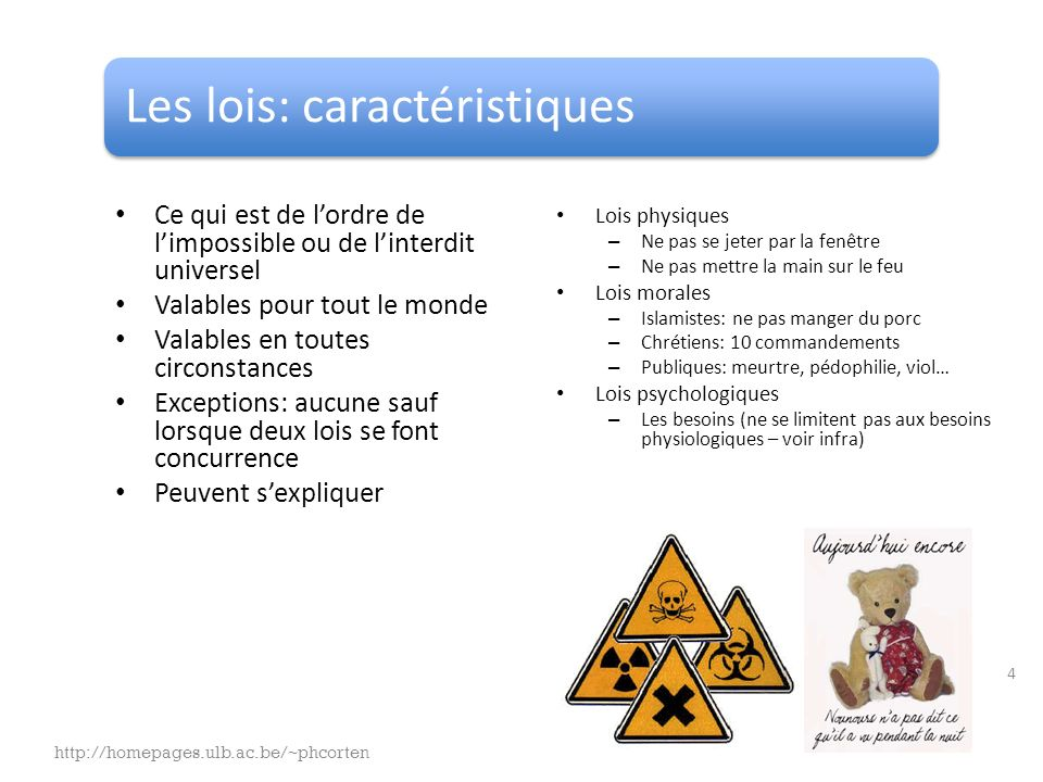 Pyramide des besoins pour se réaliser Besoins dactualisation Actual = – Maintenant – Agir « What you can be, you must be » Physiologie Sécurité Stimulation Appartenance Amour sympathie Estime Réalisation de Soi http://homepages.ulb.ac.be/~phcorten 15