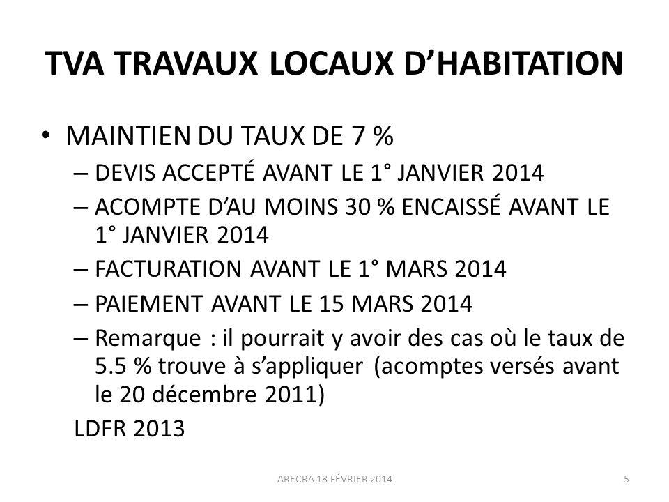 MESURES DIVERSES BARÈME INDEXÉ : + 0.80 % LDF 2014 DISPENSE DE JUSTICATIFS (DÉCLARATIONS PAPIER).