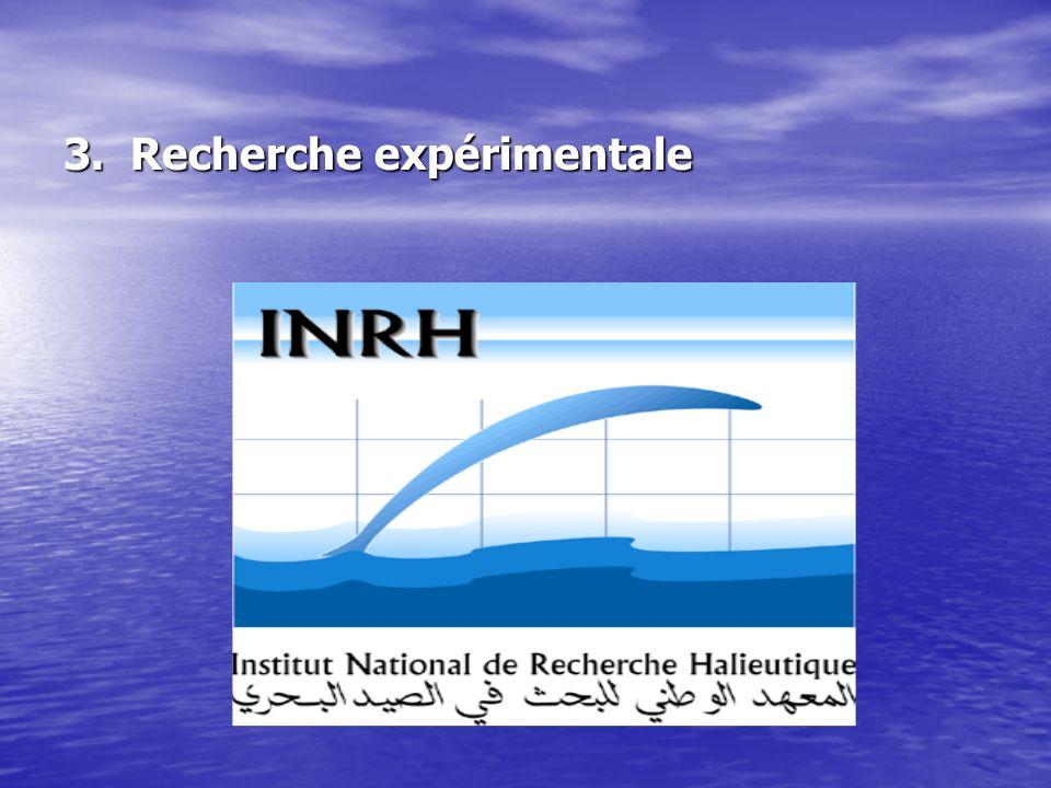 3. Recherche expérimentale