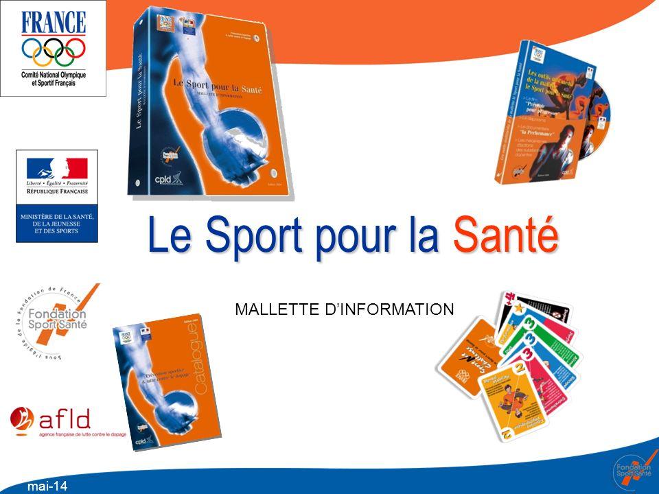 mai-14 Le Sport pour la Santé MALLETTE DINFORMATION