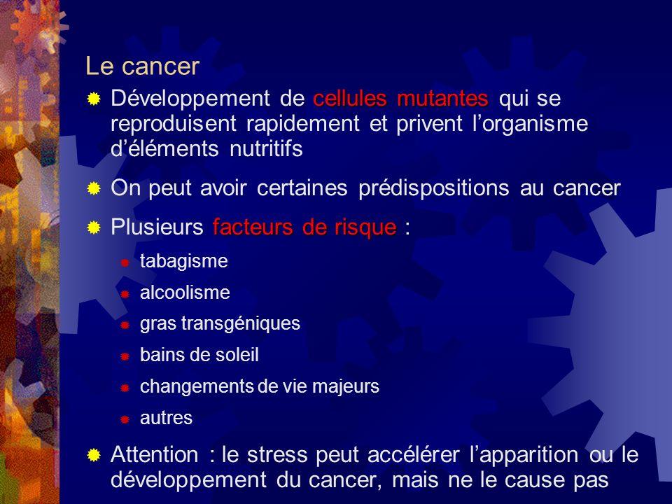 Stresseurs Stresseurs pouvant contribuer au développement des troubles cardiovasculaires : mode de vie (p. ex. horaire surchargé) relations interperso
