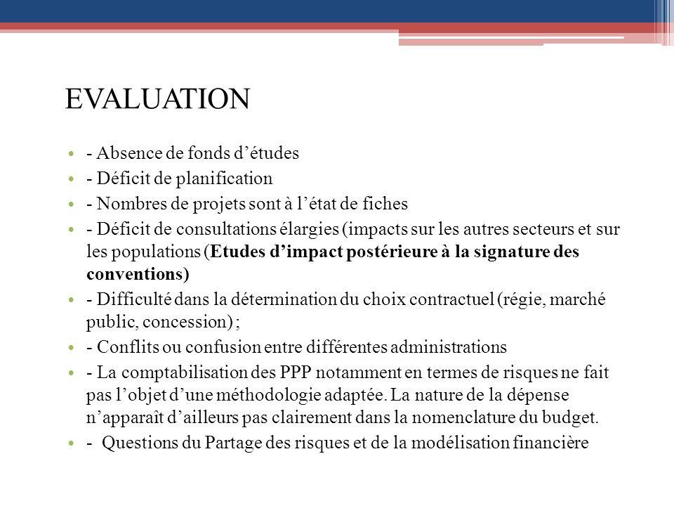 Sélection - Plus de transparence dans sélection - Recours aux procédures dérogatoires (gré à gré, avenants) - Absence de cadre de réglementation des offres spontanées - Critères de sélection - Question des procédures de passation mises en œuvre par concessionnaire - Conformité à la Directive UEMOA