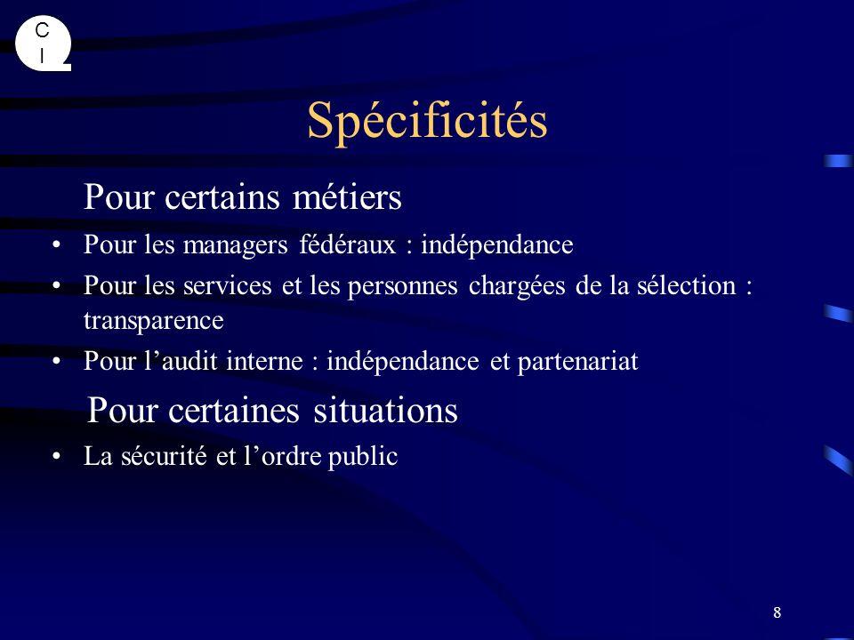CICI 29 Valeurs, Culture, Rapports de force .