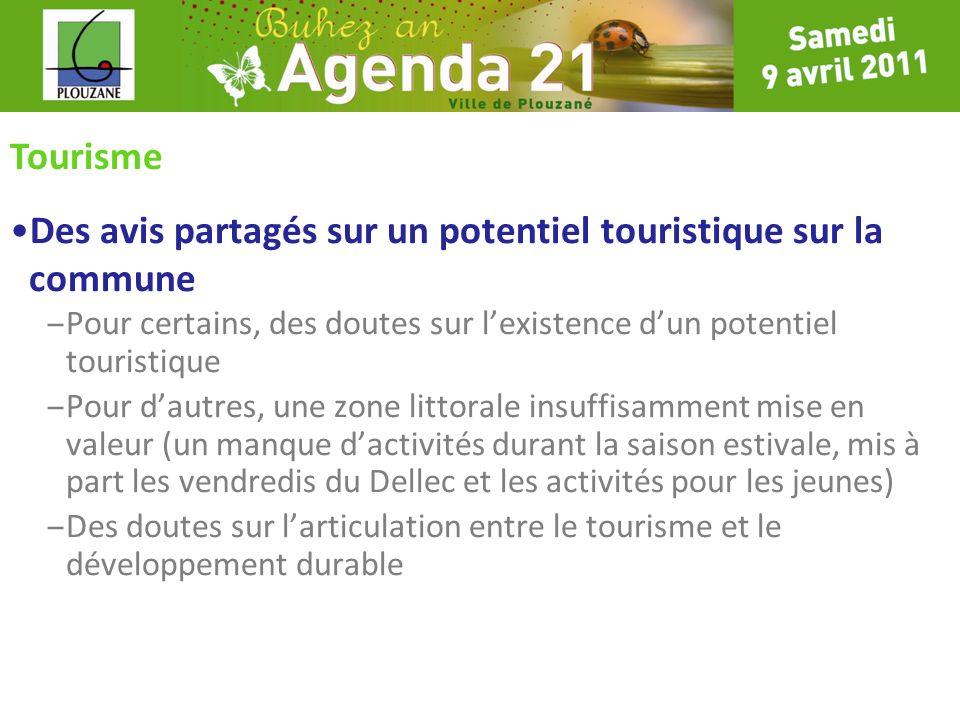 Tourisme Des avis partagés sur un potentiel touristique sur la commune – Pour certains, des doutes sur lexistence dun potentiel touristique – Pour dau