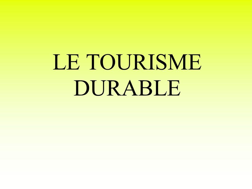 Différents modèles de tourisme « responsable » le tourisme intégré et diffus lécotourisme le tourisme solidaire le tourisme équitable le tourisme communautaire et « pour les pauvres » le tourisme durable