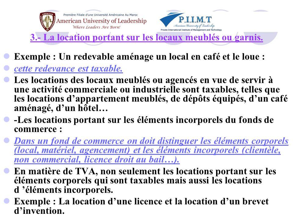 1.4- Les opérations de prestation de services 4.- Les opérations de banque, de crédit et les commissions de changes.