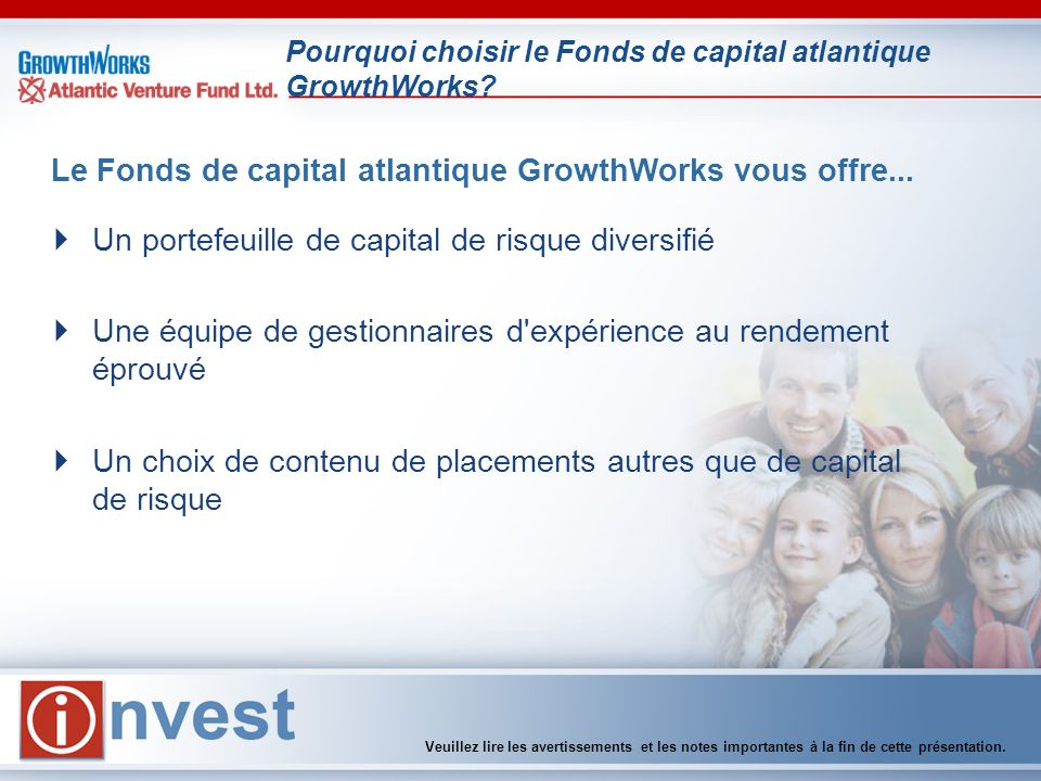 Pourquoi choisir le Fonds de capital atlantique GrowthWorks.