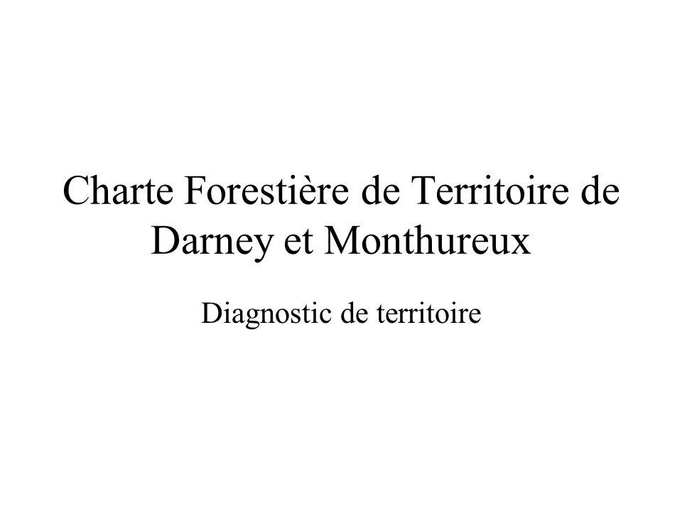 Charte Forestière de Territoire de Darney et Monthureux Diagnostic de territoire