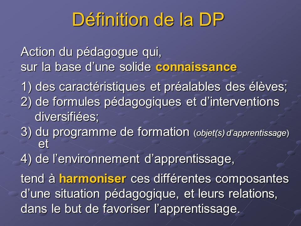 Calendrier des activités 200520062007 01 06 Synthèse et diffusion des modèles de DP Développement de modèles de DP par les équipes-cycles