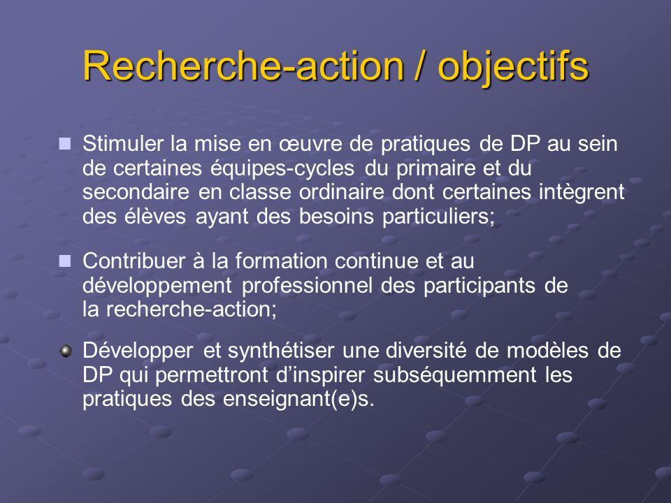 Ordre du jour Accueil et bref exposé sur la nature, les objectifs et la structure de la recherche-action sur la DP en Montérégie 9h30 Pause 9h50 Activ