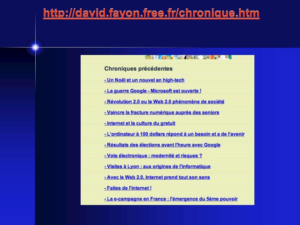 http://david.fayon.free.fr/chronique.htm