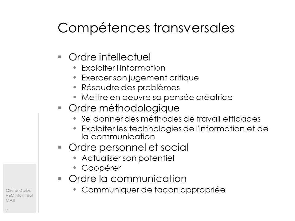 Olivier Gerbé HEC Montréal MATI 20 Une SAE Les relations Vers un standard de la description des sae, figure 9 – p.