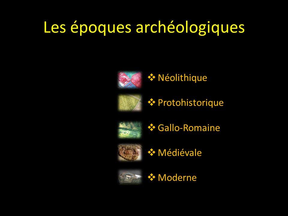 Les principales époques archéologiques En Poitou-Charentes