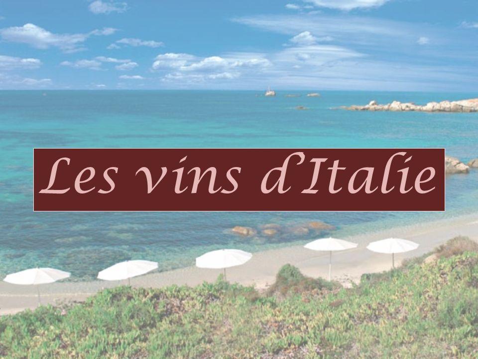 Les vins dItalie