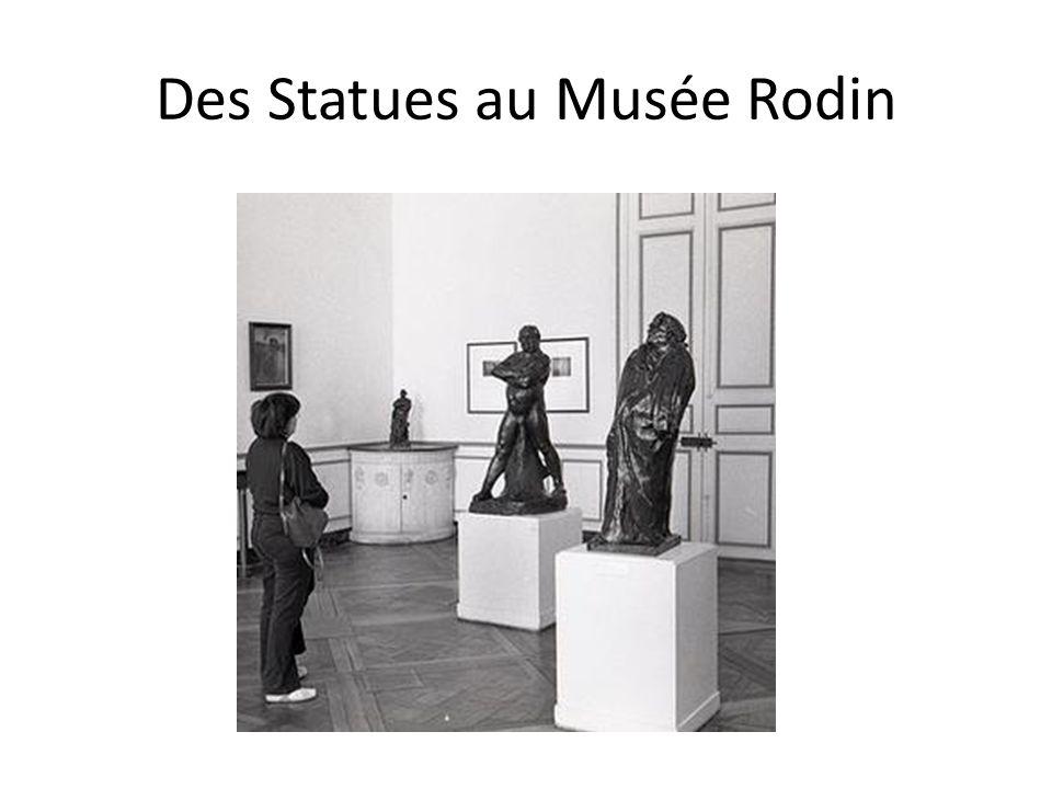 Des Statues au Musée Rodin