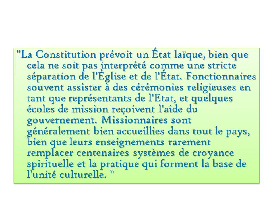 Une liste des religions en Côte d Ivoire Religions Locales- 60% (bleu) Harrisme- 10% (rouge) Chrétien- 5% (orange) Catholique- 5% (violet) Islam- 20% (vert) Religions Locales- 60% (bleu) Harrisme- 10% (rouge) Chrétien- 5% (orange) Catholique- 5% (violet) Islam- 20% (vert)