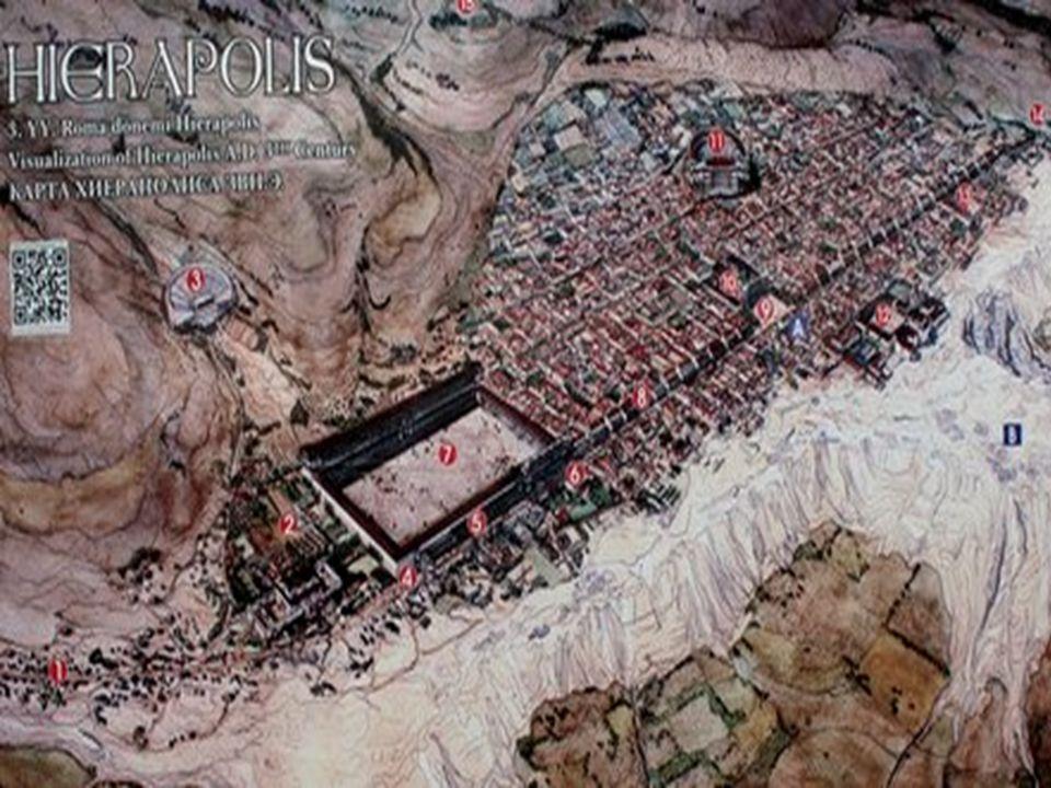 Hiérapolis Le site est également intéressant d un point de vue archéologique.